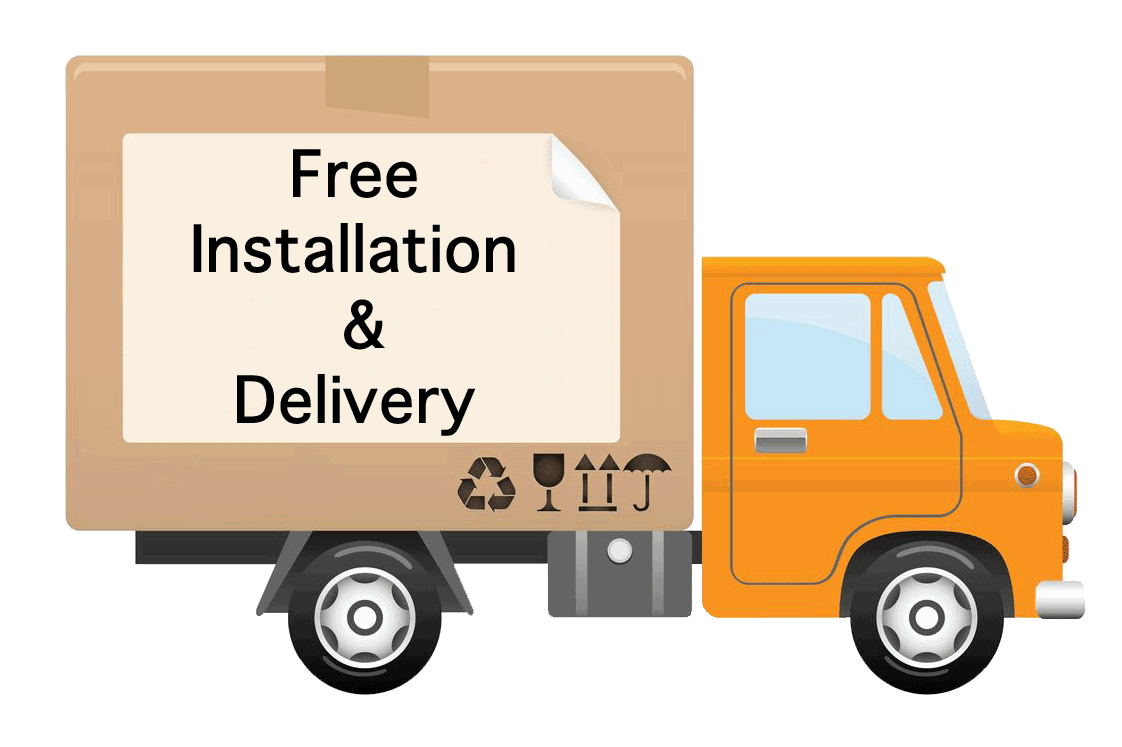 We can handle your delivery and installation