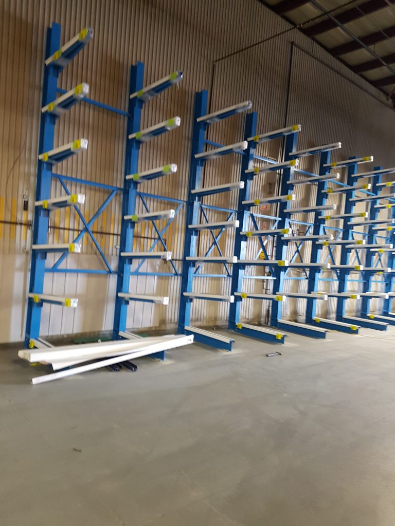 Cantilever Racking Ssytems - Equipement Industriel RC