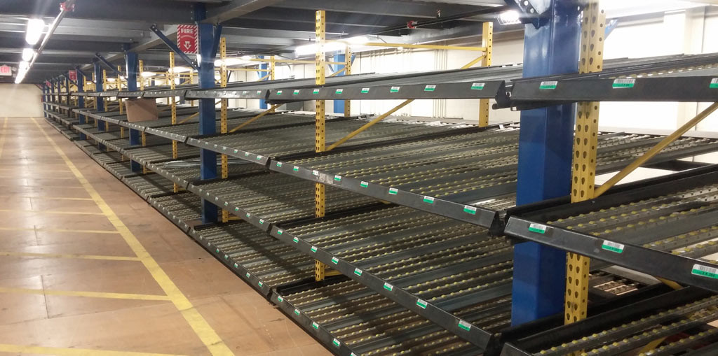 Carton Flow Racking Systems - Equipement Industriel RC