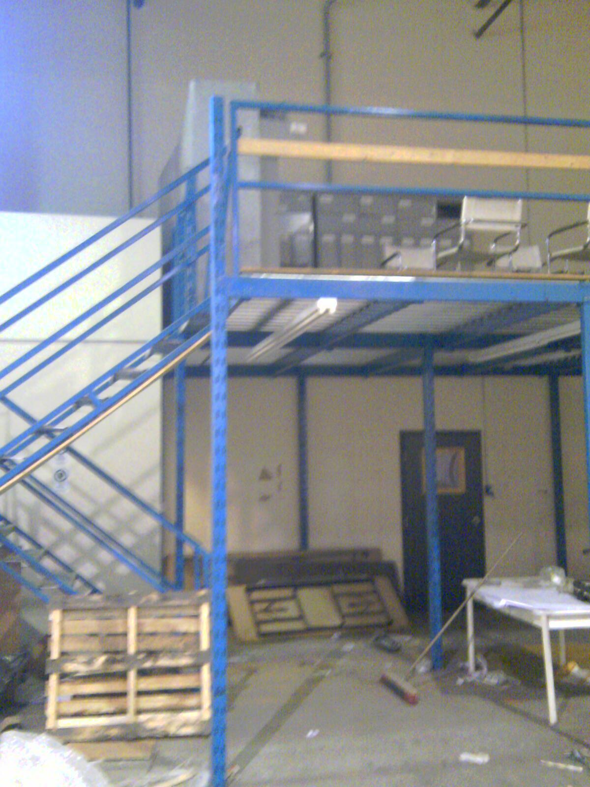 Escaliers industriels d'occasion
