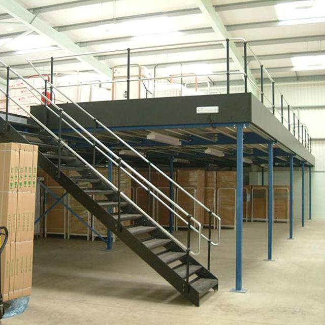 Free Standing Mezzanines - Equipement Industriel RC