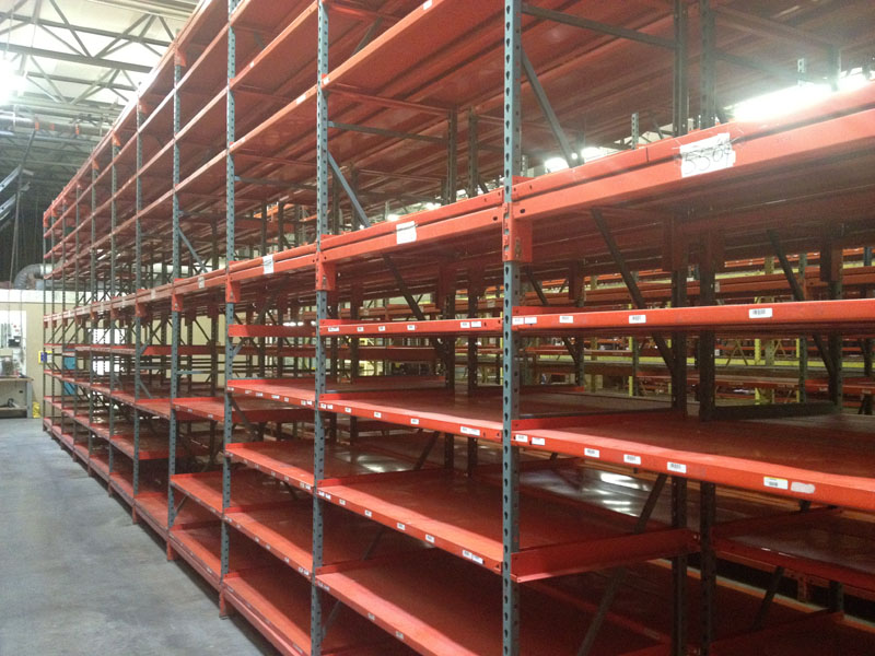 Wide Span Shelving Options from Equipement Industriel RC