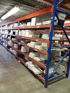 Wide Span Shelving Systems from Equipement Industriel RC